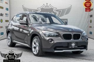 Used 2012 BMW X1 TECH PKG NAVIGATION PAN SUNROOF LEATHER AWD for sale in Toronto, ON