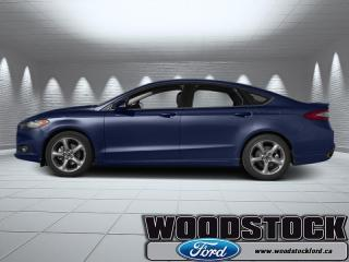 Used 2014 Ford Fusion SE  200A - LOCAL TRADE IN for sale in Woodstock, ON