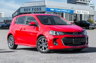 Used 2018 Chevrolet Sonic LT RS Pkg Sunroof Fog Lights Rear Camera for sale in Thornhill, ON