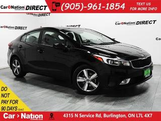 Used 2018 Kia Forte LX|TOUCHSCREEN|BACK UP CAMERA|OPEN SUNDAYS| for sale in Burlington, ON