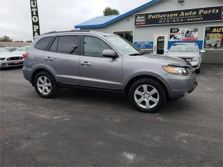 Used 2007 Hyundai Santa Fe GLS Leather Sunroof 138k Safetied GLS 5Pass for sale in Madoc, ON
