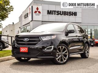 Used 2017 Ford Edge SPORT| COOL SEATS| BLIS|PANO|CLEAN HISTORY for sale in Mississauga, ON