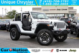 Used 2018 Jeep Wrangler RUBICON| LED GRP| LEATHER| NAV| ALPINE SOUNDS for sale in Burlington, ON