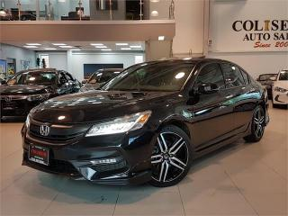 Used 2016 Honda Accord Sedan TOURING-NAVIGATION-CAMERA-LEATHER-SUNROOF-ONLY 70K for sale in York, ON