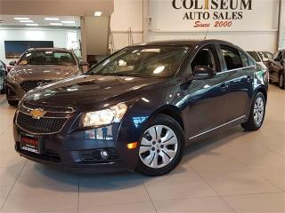 Used 2014 Chevrolet Cruze LT-AUTO-BACK UP CAMERA-BLUETOOTH-ONLY 74KM for sale in York, ON