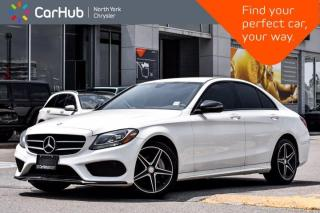 Used 2016 Mercedes-Benz C-Class 300 4MATIC AMG Styling Bluetooth Blind Spot Heat Seats for sale in Thornhill, ON