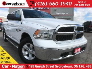 Used 2015 RAM 1500 SLT | ECO DIESEL | 4X4 | CREW | TOUCH SCREEN for sale in Georgetown, ON