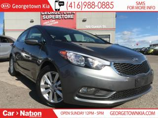 Used 2015 Kia Forte LX +| HTD SEATS | ALLOY WHEELS| BLUETOOTH| FOGS for sale in Georgetown, ON