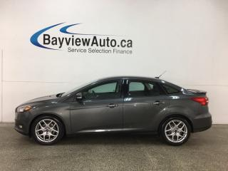 Used 2015 Ford Focus - ALLOYS! FLEX FUEL! HTD SEATS! DUAL CLIMATE! NAV! SONY! SYNC! for sale in Belleville, ON