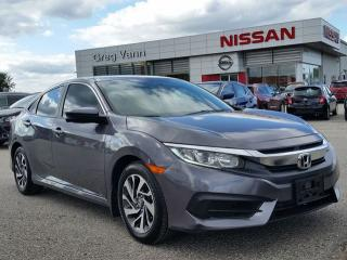 Used 2016 Honda Civic EX w/pwr moonroof,heated seats,remote start,rear cam for sale in Cambridge, ON