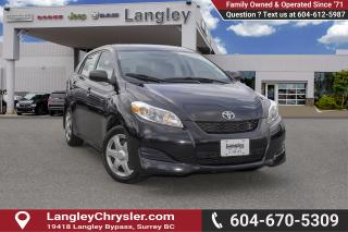 Used 2013 Toyota Matrix Base <B>*LOCAL BC  *NO ACCIDENTS </B> for sale in Surrey, BC