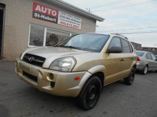 Used 2005 Hyundai Tucson GL 4CYL-AUTO-A/C for sale in Saint-hubert, QC
