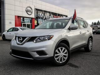 Used 2014 Nissan Rogue S AWD reverse camera, cruise control, power locks, tilt steering, Bluetooth, CD, A/C for sale in Orleans, ON