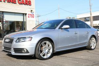 Used 2011 Audi A4 2.0L Quattro Sline Leatherette. Sunroof for sale in Toronto, ON