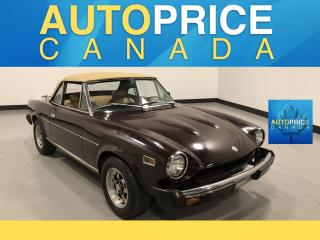 Used 1978 Fiat 124 SPYDER 2DR CONVERTIBLE for sale in Mississauga, ON