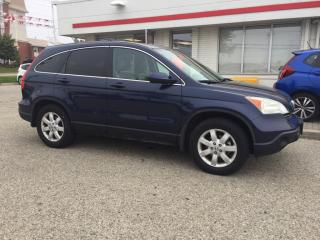 Used 2007 Honda CR-V EX-L Sold Pending Customer Pick Up...AWD, Leather and more! for sale in Waterloo, ON