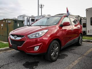 Used 2015 Hyundai Tucson leather, heated seats, cruise control, tilt steering, CD, Bluetooth, power locks for sale in Orleans, ON