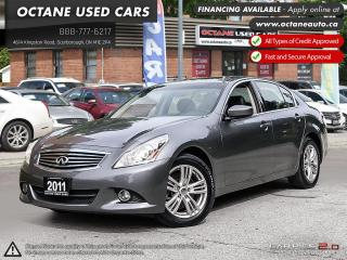 Used 2011 Infiniti G37 X Luxury for sale in Scarborough, ON
