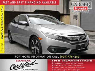 Used 2017 Honda Civic Touring for sale in Vancouver, BC