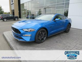 New 2019 Ford Mustang GT Premium 5.0L 4V TI-VCT V8 ENGINE, GT COUPE for sale in Okotoks, AB