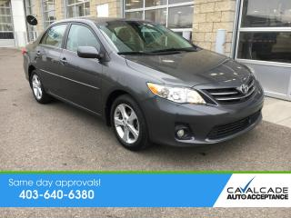 Used 2013 Toyota Corolla LE for sale in Calgary, AB