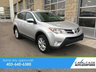 Used 2014 Toyota RAV4 LIMITED  for sale in Calgary, AB