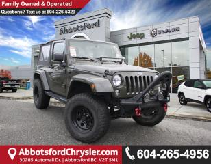 Used 2015 Jeep Wrangler Sahara *ACCIDENT FREE* *LOCALLY DRIVEN* for sale in Abbotsford, BC