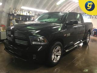 Used 2013 Dodge Ram 1500 SPORT*CREWCAB*4WD*HEMI*NAVIGATION*LEATHER*BACK UP CAMERA W/PARK ASSIST*SUNROOF*STEP BARS* TONNEAU COVER*8.4INCH U CONNECT TOUCH SCREEN* PUSH BUTTON IG for sale in Cambridge, ON