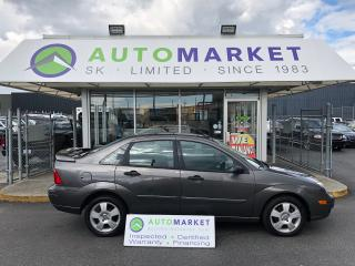 Used 2005 Ford Focus ZX4 YOU WORK/YOU DRIVE FINANCE IT! for sale in Langley, BC