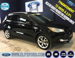 Used 2016 Ford Escape TITANIUM, AWD, CUIR, TOIT, GPS, 2.0L for sale in St-jérôme, QC