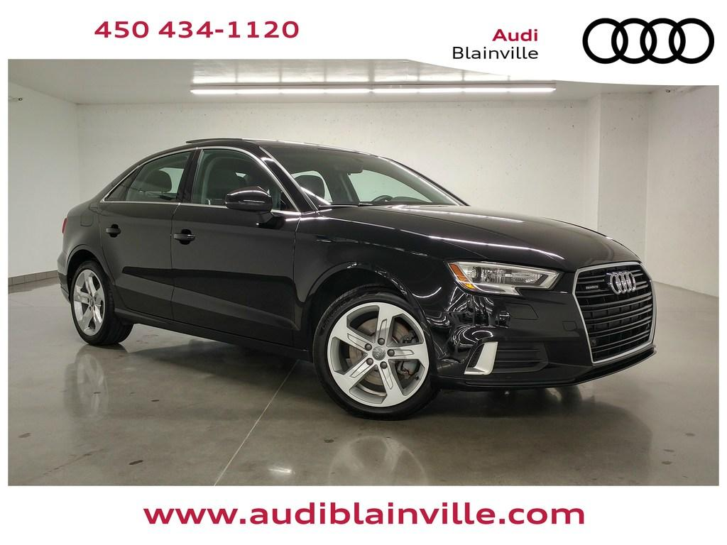 Used 2018 Audi A3 20t Komfort Quattro For Sale In Blainville