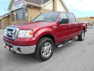 Used 2008 Ford F-150 XLT XTR Crew Cab 4X4 6.5Ft Box 4.6L ONLY 137,000Km for sale in Rexdale, ON