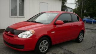 Used 2009 Hyundai Accent GL AC for sale in Repentigny, QC
