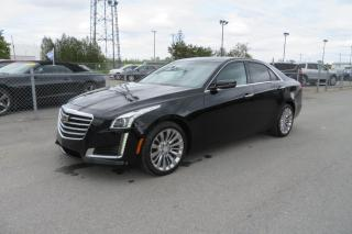 Used 2018 Cadillac CTS 2.0l awd toit ouvrant for sale in St-Rémi, QC