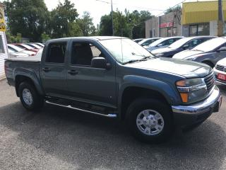 Used 2006 GMC Canyon SLE/ CREW CAB/ ALLOYS/ RUNNING BOARDS/ LIKE NEW! for sale in Scarborough, ON