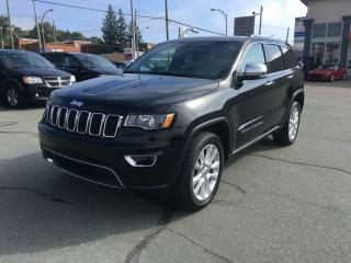 Used 2017 Jeep Grand Cherokee 4 RM, 4 portes, Limited for sale in Sherbrooke, QC