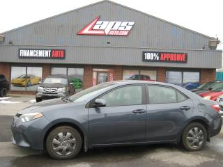 Used 2014 Toyota Corolla Berline 4 portes, boîte manuelle, CE for sale in Ste-Catherine, QC
