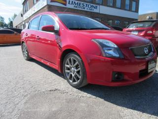 Used 2012 Nissan Sentra SE-R SPEC V / ONE OWNER / ACCIDENT FREE for sale in Newmarket, ON