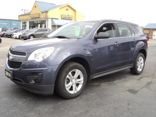 Used 2014 Chevrolet Equinox LS 2.4L Bluetooth for sale in Brantford, ON