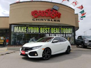 Used 2017 Honda Civic Sport P-WR ROOF SPORT PKG REAR CAM for sale in Toronto, ON
