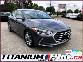 Used 2017 Hyundai Elantra GLS-Camera-Sunroof-Blind Spot & Cross-Apple Play- for sale in London, ON
