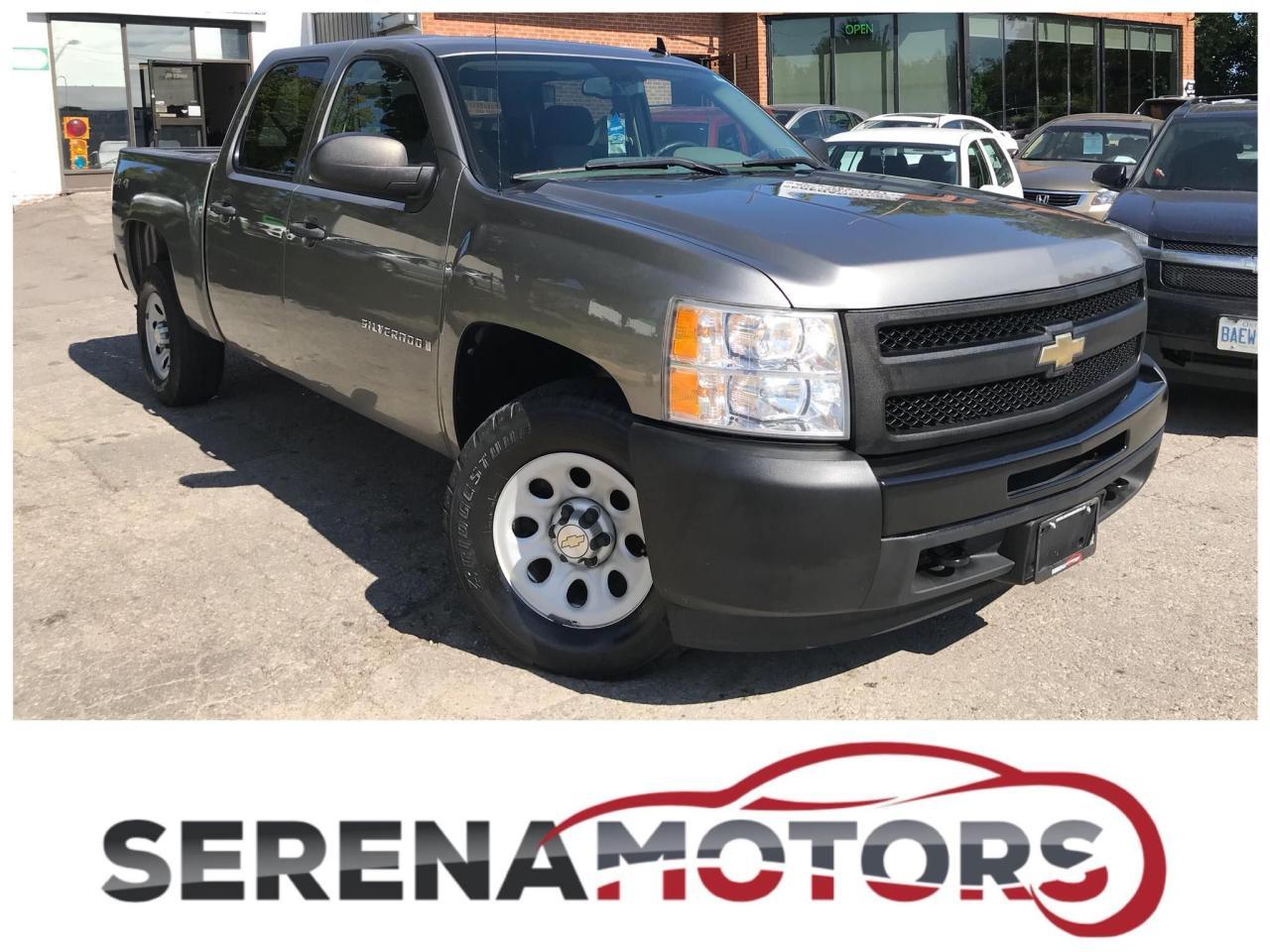 2009 Chevrolet Silverado 1500 WT | 4X4 | CREW CAB | 6 PASSENGERS |
