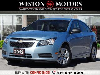 Used 2012 Chevrolet Cruze LS*POWER GROUP*ACC FREE*WOW LOW KM!!* for sale in Toronto, ON