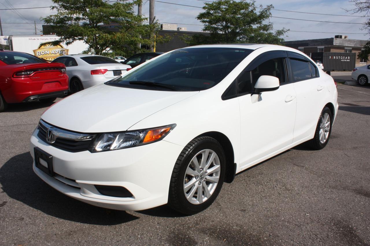 Photo of White 2012 Honda Civic