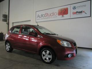 Used 2010 Chevrolet Aveo LT **TOIT**CRUISE**A/C**GR.ÉLEC.** for sale in Mirabel, QC
