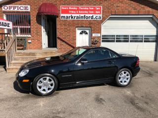 Used 2002 Mercedes-Benz SLK250 Hard Top Convertible for sale in Bowmanville, ON