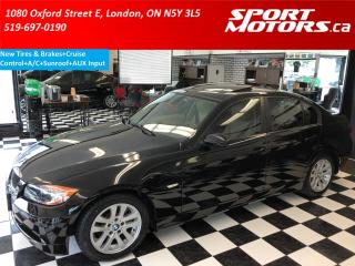 Used 2008 BMW 3 Series 323i+New Tires & Brakes+A/C+Sunroof+Cruise for sale in London, ON
