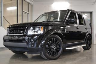 Used 2015 Land Rover LR4 Hse Luxury Black for sale in Laval, QC