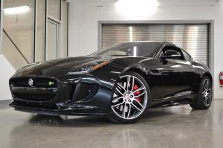 Used 2017 Jaguar F-Type R Coupe + Black for sale in Laval, QC