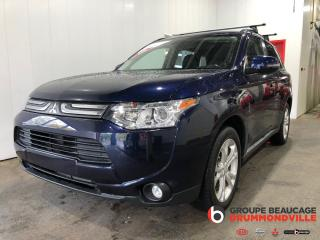 Used 2014 Mitsubishi Outlander Gt Awd-V6-Gar.- 7 for sale in Drummondville, QC